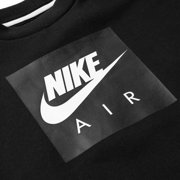 photos officielles 382a8 ff759 Nike Sweat-Shirt NSW Air Crew - Noir/Gris Enfant | www ...