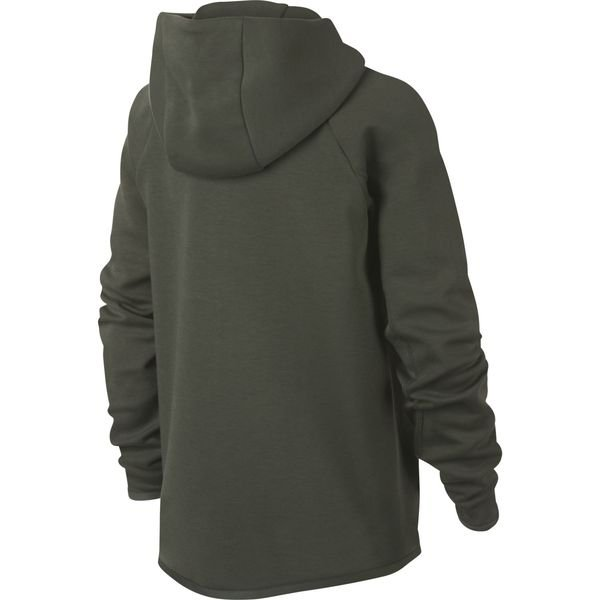 new concept b964a 7a880 Nike Hoodie Tech Fleece Essentials FZ - Grün/Schwarz Kinder