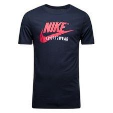 nike t-shirt nsw futura - navy/sort - t-shirts