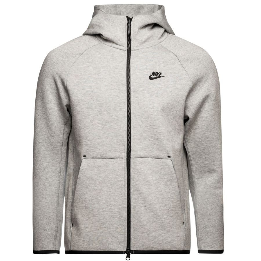 Nike Veste à Capuche FZ NSW Tech Fleece - Gris/Noir