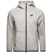 Nike Hoodie NSW Tech Fleece - Grijs/Zwart