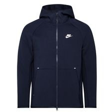 Nike Hoodie NSW Tech Fleece - Navy/Wit