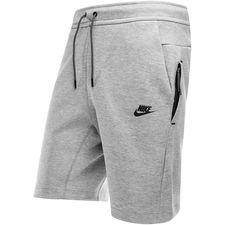Nike Shorts NSW Tech Fleece Kort - Grijs/Zwart