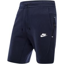 Nike Shorts NSW Tech Fleece Kort - Navy/Wit