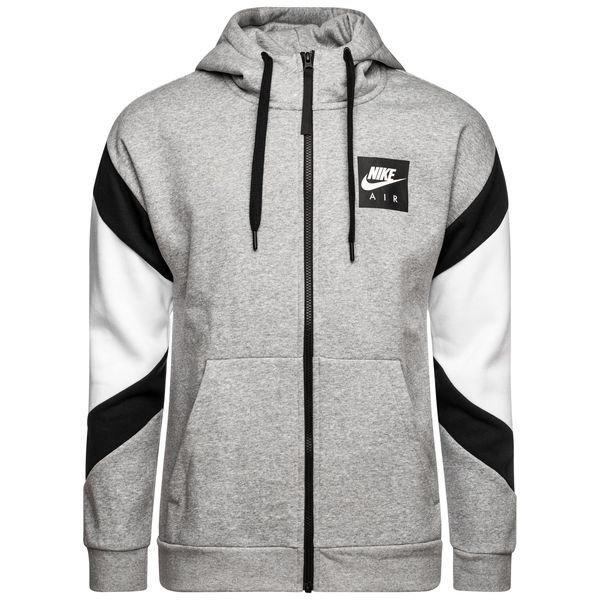 2264c105 Nike NSW Hettejakke Fleece Air - Grå/Sort/Hvit | www.unisportstore.no