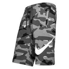 nike shorts nsw club - grå/grå/hvid - træningsshorts
