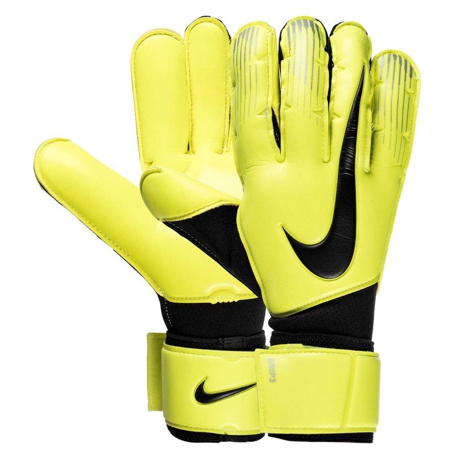 Nike Gants de Gardien Grip 3 - Jaune Fluo/Noir
