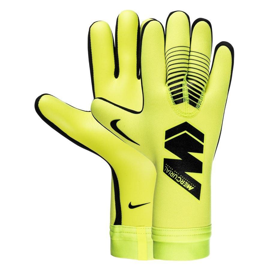 Nike Gants de Gardien Mercurial Touch Victory - Jaune Fluo/Noir