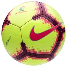 Image of   Nike Fodbold Pitch La Liga - Neon/Pink/Bordeaux