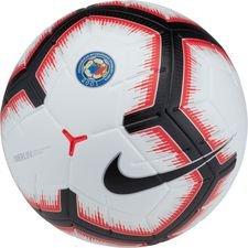 nike fotboll russian premier league merlin - vit/svart förbeställning - fotbollar