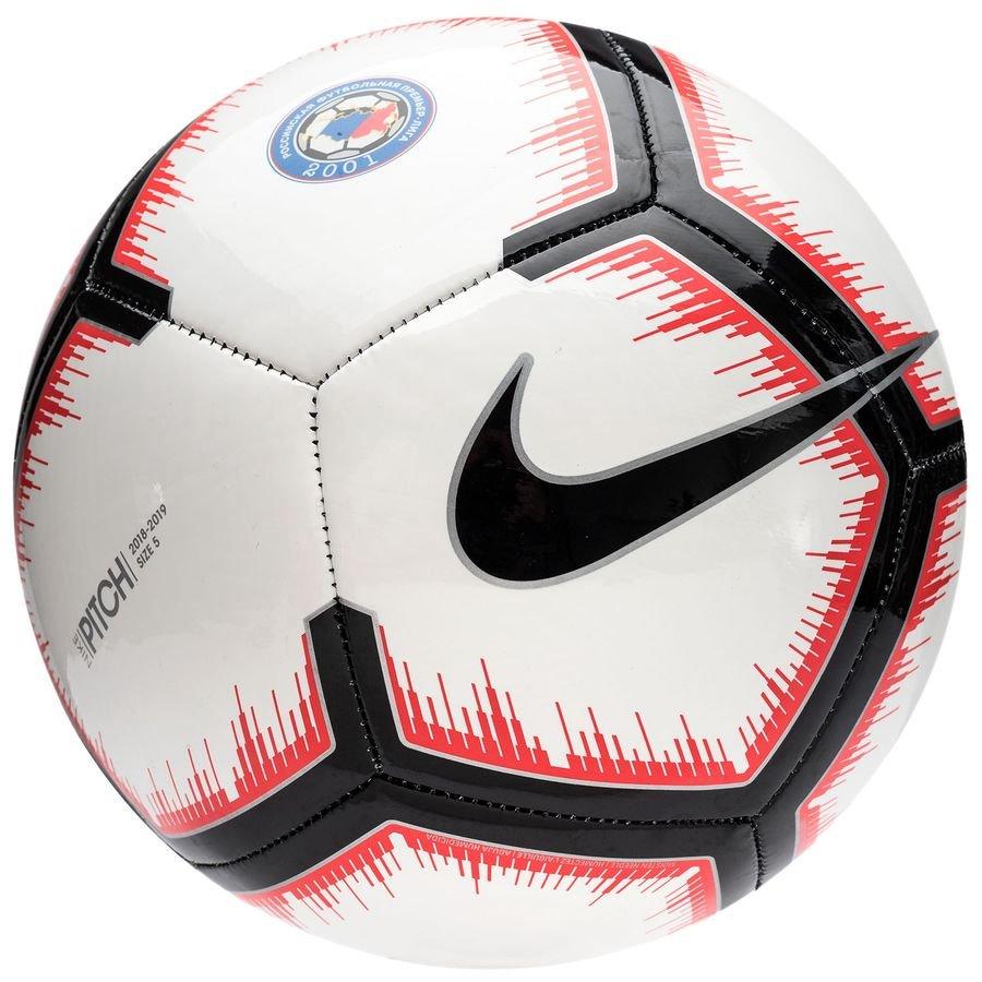 Nike Fodbold Pitch Russian Premier League - Hvid/Rød