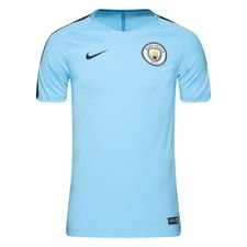 Manchester City Trænings T-Shirt Breathe Squad - Blå/Navy thumbnail