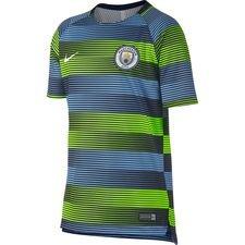 Manchester City Tränings T-Shirt Dry Squad GX 2.0 - Neon/Blå/Navy/Vit Barn