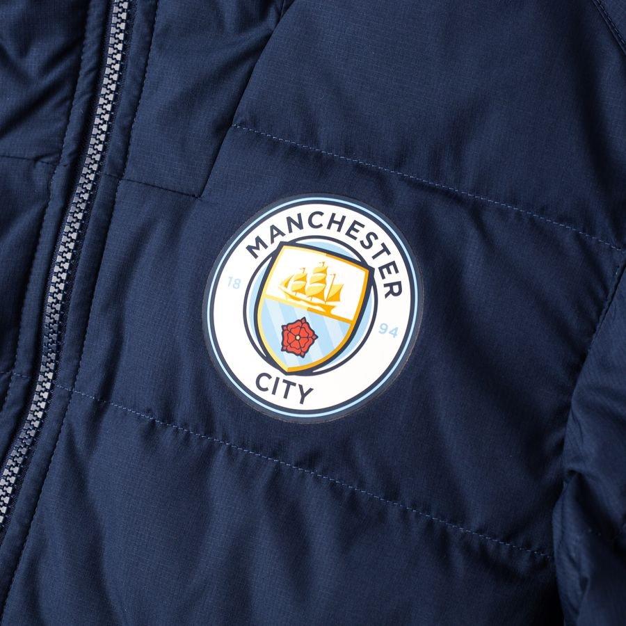 Manchester City Vinterjakke NSW NavyBlå