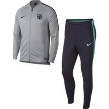 Barcelona Träningsoverall Dry Squad Knit - Grå/Lila