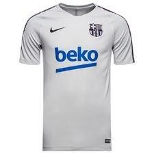 Barcelona Tränings T-Shirt Breathe Squad - Grå/Lila Barn