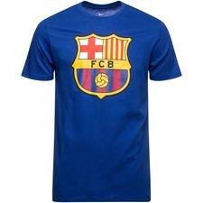 Barcelona T-Shirt Crest - Navy
