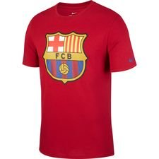 Barcelona T-Shirt Crest - Bordeaux