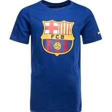Barcelona T-Shirt Crest - Navy Barn