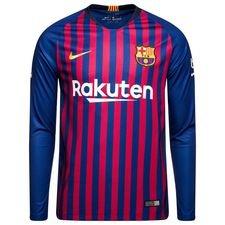 Barcelona Hjemmebanetrøje 2018/19 Langærmet
