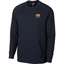 Image of   Barcelona Sweatshirt NSW Crew - Navy/Bordeaux