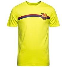 Barcelona T-Shirt Crest - Gul