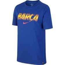Barcelona T-Shirt Preseason Dry - Navy Barn