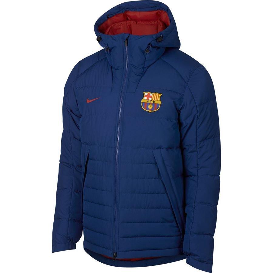 FC Barcelone NSW Doudoune - Bleu Marine/Bordeaux