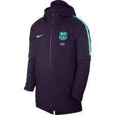 Barcelona Vinterjacka Squad - Lila/Turkos