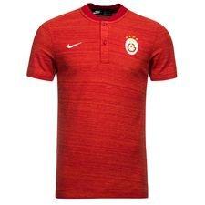 Galatasaray Piké Authentic Grand Slam - Röd/Vit