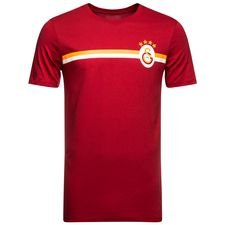 galatasaray t-shirt crest - rød - t-shirts