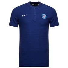 Paris Saint-Germain Piké Authentic Grand Slam - Blå/Vit