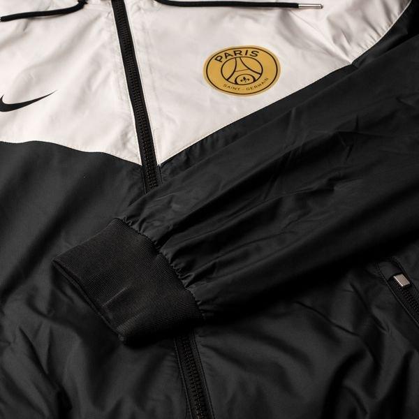 low cost best quality top quality Paris Saint-Germain Windrunner Woven Authentic - Schwarz/Grau