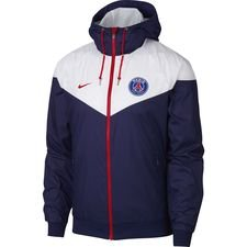 Paris Saint-Germain Windrunner Woven Authentic - Blå/Vit