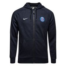 Paris Saint-Germain Luvtröja NSW FZ - Svart/Navy