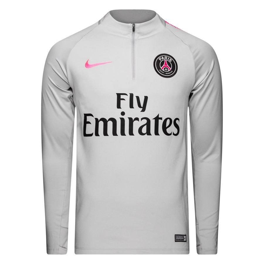 c62c0c8ca Nike Paris Saint-Germain Dri-FIT Squad Drill Men s Long-Sleeve Football Top  - Grey