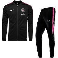 Paris Saint-Germain Träningsoverall Dry Squad Knit - Svart/Rosa