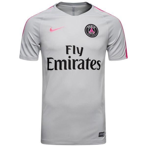 huge discount 4cc1a 74033 Paris Saint Germain Training T-Shirt Breathe Squad - Wolf Grey/Hyper Pink  Kids