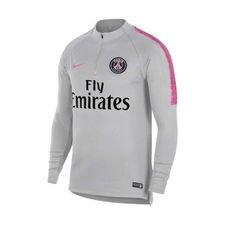 Paris Saint-Germain Träningströja Dry Squad Drill - Grå/Rosa Barn