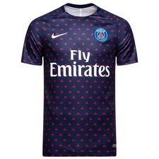 Paris Saint-Germain Tränings T-Shirt Dry Squad GX 2.0 - Navy/Vit Barn