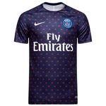 Paris Saint-Germain Trænings T-Shirt Dry Squad GX 2.0 - Navy/Hvid Børn