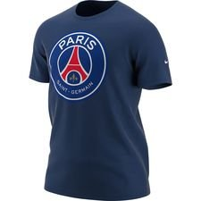 Paris Saint-Germain T-Shirt Crest - Blå Barn