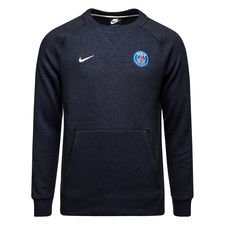Paris Saint-Germain Sweatshirt NSW Crew - Navy/Vit