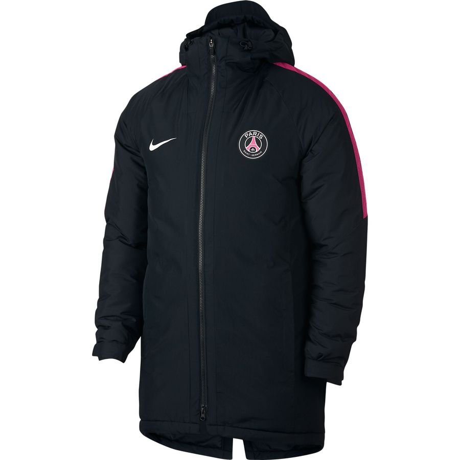 Paris Saint-Germain Manteau d'Hiver Squad - Noir/Rose
