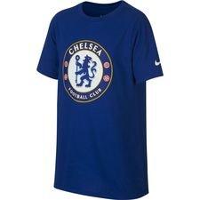 Chelsea T-Shirt Crest - Blå Barn