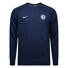 Image of   Chelsea Sweatshirt NSW Crew - Navy/Hvid