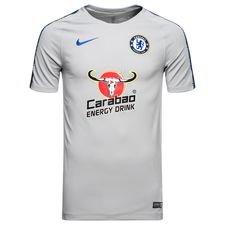 Chelsea Tränings T-Shirt Breathe Squad - Grå/Blå
