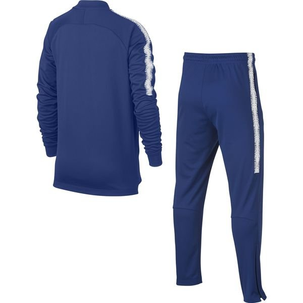 chelsea surv tement dry squad knit bleu blanc enfant. Black Bedroom Furniture Sets. Home Design Ideas