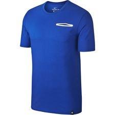Chelsea T-Shirt Crest - Blå