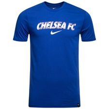 Chelsea T-Shirt Preseason Dry - Blå